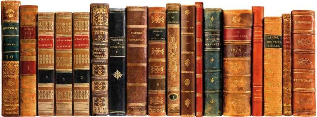 Cabecero de cama libros antiguos decoraci n teukhos for Libros antiguos para decoracion